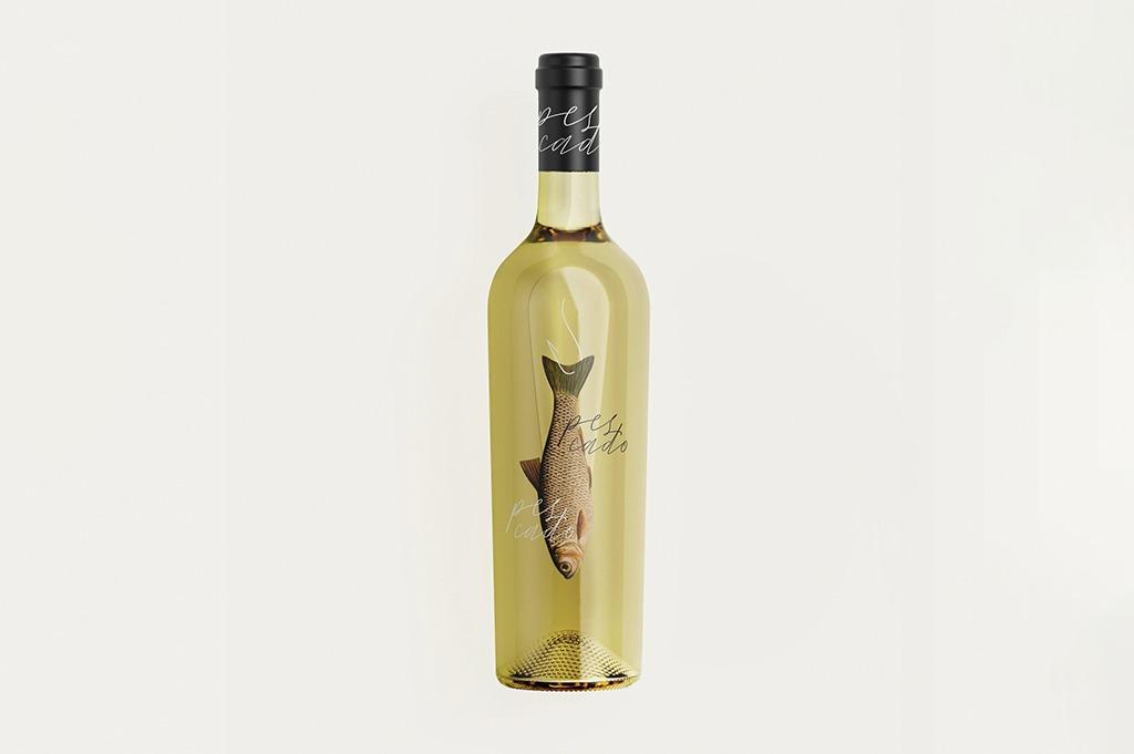 Packaging Vino Blanco Pescado